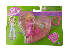Polly Pocket Polly in Herzschatulle Scatola Cuore Mattel B7136 Nuovo