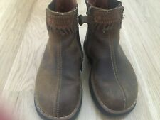 Oilily Boots Booties Girls Brown Leather US 11, EU 26, RARE, TIMELESS STYLE RARE