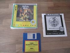 Amiga Spiel THE BARDS TALE Tales of the Unknown mit Schachtel und Zubehör