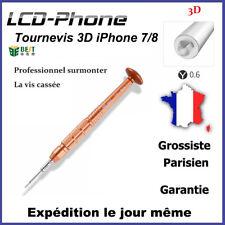 Tournevis 3D parfaitement adapté aux vis peut s'ouvrir la vis cassée -iPhone 7/8