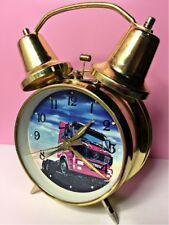 Vintage Mechanical Alarm Clock Truck Illustration Rare Collectible China Chinese