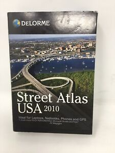 DELORME Street Atlas USA 2010 For Laptops Phones Netbooks with GPS Receiver
