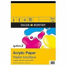 Daler-Rowney System 3 Acrylic Pad A3 20 Sheets