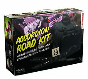Hohner Accordion Road Kit THICK Straps +AGB Gig Bag - Diatonic Button Accordions