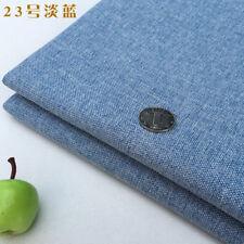 Thick Diy Plain Linen Canvas Linen Hessian Upholstery Sofa Cushion Pillow Fabirc
