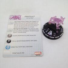 Heroclix Uncanny X-Men set Proteus #057 Super Rare figure w/card!