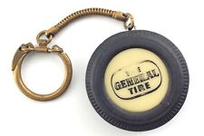 1950s The General Tire Dual 90 Vintage Miniature Tire Advertising Keychain N437