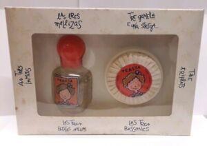 LES TRES BESSONES (TRES MELLIZAS) COLONIA 550ML. + JABON (caja manchada)