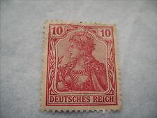 One 1905 Fine/Unused Germania (Deutsches Reich) 10 pfennigs Stamp