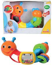 Simba ABC Raupe mit Multidrehfunktion Babyspielzeug Motorik Baby Spielzeug NEU