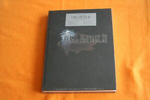 Final Fantasy XV Collectors Edition Neu in Folie Buch Lösungsbuch