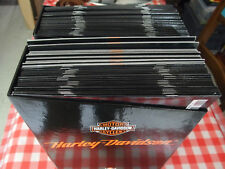 Motos Harley Davidson coffret fascicules collections
