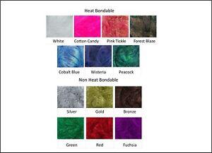 10g Angelina Fibre Heat Bondable Crafts Fusible Felting Brand Glittery Art