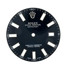 ROLEX BLACK INDEX DIAL FOR 41MM DATEJUST II 116334 116300