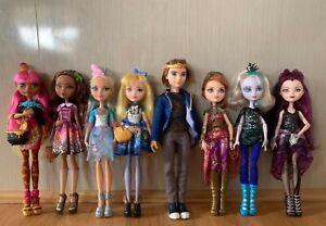 Ever After High - Dexter, Darling, Blondie, Cedar, Ginger, Holly, Raven Faybelle