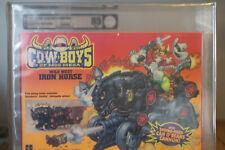"Wild West Cowboys of Moo Mesa - Holy Grail Iron Horse"" 1991 Rare Afa 85 Sealed"