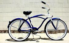 Beach Cruiser Bike Light Aluminum Frame Bicycle Comfort Spring Seat Coast Break