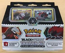 Pokemon Black & White Trainer Kit 2 Player Learn to Play Set & Booster Pack QTY