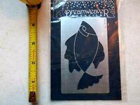 Dreamweaver Metal Stencils Fish LL3038 Lynell Harlow Embossing Stenciling New