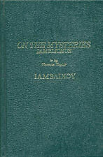 Secret Doctrine Reference Ser.: On the Mysteries by Iamblichus (1984, Hardcover, Reprint)