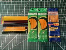 Vintage Pencil Lot - Mongol, Dixon, Faber Castell