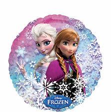 "18"" Disney FROZEN Princess Anna and Elsa Mylar Balloon Birthday party Supplies"