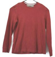 Banana Republic Women's XL Long Sleeve Crew Neck Winter Wear Sweater Red