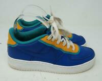 Nike Air Force One MULTICOLOR BLUE YELLOW WHITE AF1 US SIZE 4.5Y