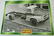 Trucks Maxi Card FlatBeds & Tippers -  1960 UNIC Saverne