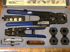 "New listing Zurn Qcrtmh Pex Multi-Head Crimp Tool Kit3/8"", 1/2"", 5/8"" and 3/4"" Pex Fittings"