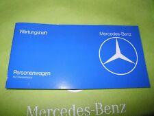 Neues originales Wartungsheft für W123 200D 240D 240TD 300D 300TD Mercedes