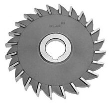 """4"""" Dia x 1/2"""" Wide x 1-1/4"""" Arbor Hole 22 Tooth Hss Side Milling Cutter Toolmex"""