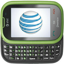 Pantech Pursuit P9020 Green AT&T GSM Slider Cell Phone qwerty 2mp bluetooth 3G