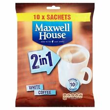 Maxwell House 2 in 1 White Coffee 10 sachets