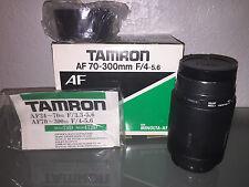 Tamron AF 70-300mm F/4-5.6 For Minolta - AF
