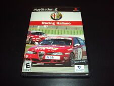 "Alfa Romeo Racing Italiano ""Great Condition"" (PlayStation 2) Complete PS2"