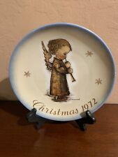 """Limited Edit 1972 Christmas Collectors Plate 7 7/8"""" by Sister Berta Hummel Angel"""