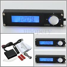 Universal Car Turbo Timer Voltage Blue LCD Digital Type 0 For HKS 41001-AK009