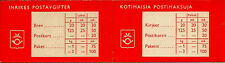 FINLAND BOOKLET : 1959 Booklet containing Lion stamps Ctrl 8 dot SG SB4S mint