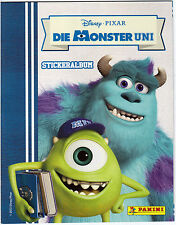 Die Monster Uni / Disney / Pixar  /Leeres Sticker Album/Neu