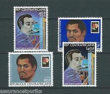 REP. CENTRAFRICAINE - 1981 YT 444A à 444D - ARTISTES PEINTRES - NEUFS** LUXE