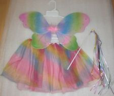 NEW Handmade Multi Colored Princess Fairy Costume Size 2T-3T