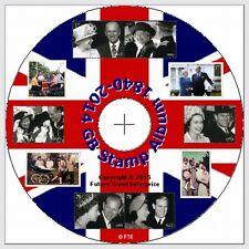 GB Stamp Album 1840-2016 - CD - FREE Postage