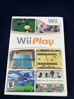 Wii Play - Nintendo Wii - Complete in Case - Tested