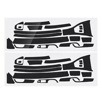 For BMW E90 E92 E93 2005-13 3D Glossy Carbon Fiber Sticker Interior Deca