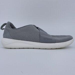 Crocs Literide Modform Slip-On Casual Sneakers MP7 Grey White 206069 Mens 8