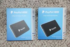 Lot of 2 PayPal Here - Chip and Swipe Reader Card Reader New