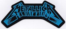 METALLICA - 3D LOGO - IRON or SEW ON PATCH