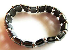 Bracelet Natural Hematite Stone