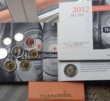 manueduc HOLANDA 2012 CARTERA OFICIAL BU 9 Coins Con 2 Euros 10 Aniversario UNC